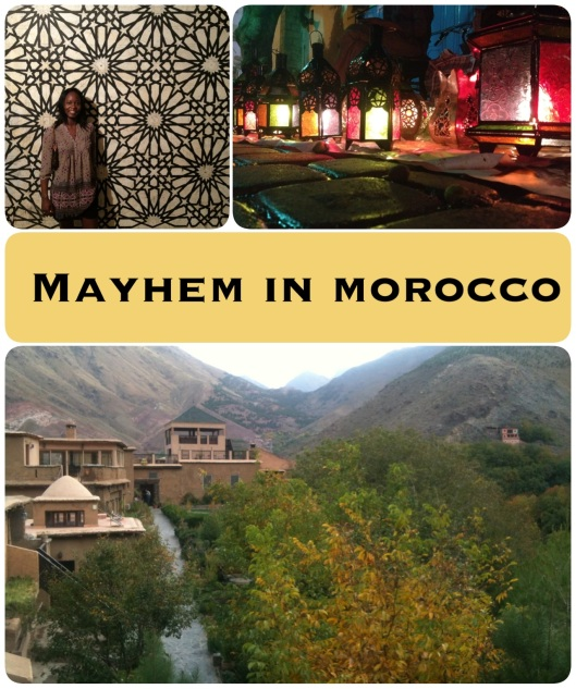 mayhem in morocco