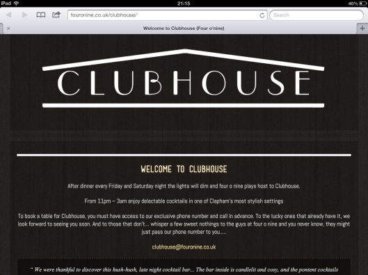 picture from Clubhouse website
